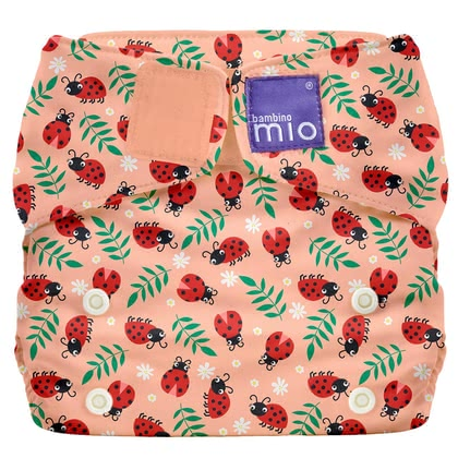 Bambino Mio Miosolo All-in-One lange en tissu Loveable Ladybug - Image de grande taille