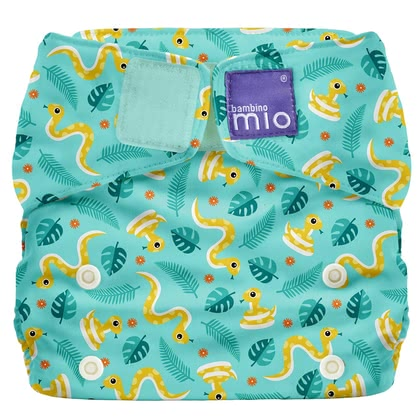 Bambino Mio Miosolo All-in-One lange en tissu Jungle Snake - Image de grande taille