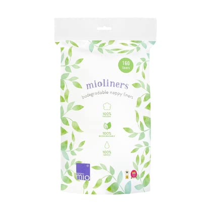 Bambino Mio mioliners papier de protection - Simple 100% naturel est l'utilisation du BambinoMio mioliners Windelvlies. Il rend l'enroulement avec des couches en tissu encore plus facile et simple.