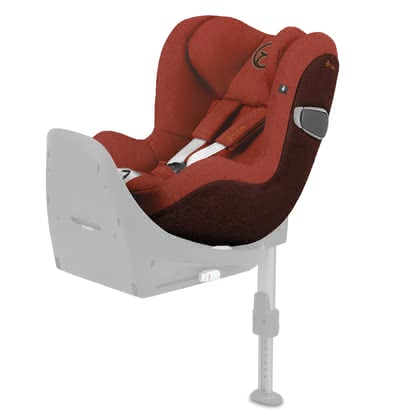 Cybex Platinum детское автокресло Sirona Z i-Size Plus Autumn Gold - burnt red 2021 - большое изображение