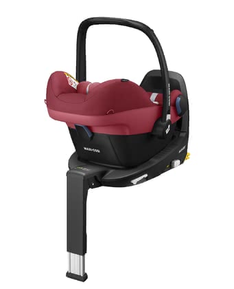 Maxi-Cosi Babyschale Pebble Pro i-Size inkl. FamilyFix3 Essential Red 2 2021 - Image de grande taille