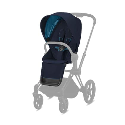 Cybex Platinum PRIAM Seat Pack Sitzpaket Nautical Blue - navy blue 2020 - Image de grande taille
