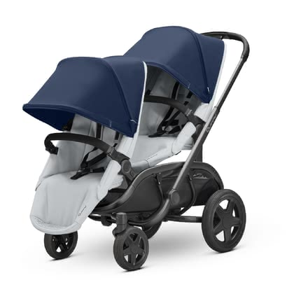 Quinny Double Stroller Hubb Duo -  * With its extremely narrow width of only 57 cm and its sturdy chassis, the Maxi-Cosi Hubb cuts an exceptionally fine figure as a double stroller.