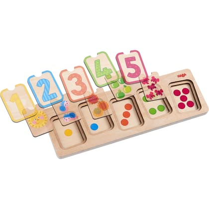 "Haba Wooden Puzzle ""First Numbers"""