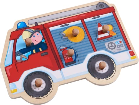 "Haba Clutching Puzzle ""Fire Engine"""