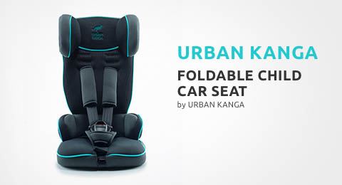 Foldable Child Car Seat