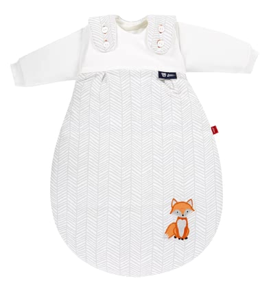 "s.Oliver by Alvi Baby-Mäxchen® All-Year-Round Baby Sleeping Bag, 3 Pieces – ""Fox"" - ¡Quien siempre dice saco de dormir, piensa nena®!"