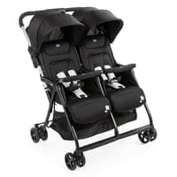 Chicco Double Buggy OHlalà Twin - Doble ligereza, doble comodidad: el gemelo OHlal es el nuevo buggy doble ultraligero y ultracompacto de Chicco.