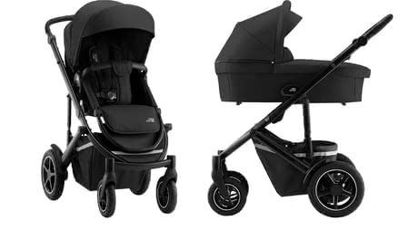 Britax Römer Kinderwagen SMILE III – Essential Bundle Space Black 2020 - Großbild
