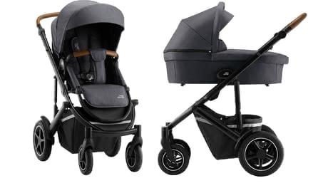Britax Römer Kinderwagen SMILE III – Essential Bundle Midnight Grey 2020 - Großbild