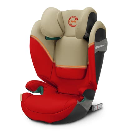 Cybex Gold Kindersitz Solution S i-Fix Autumn Gold - burnt red 2021 - Großbild
