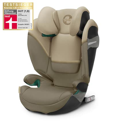Cybex Gold Kindersitz Solution S i-Fix Classic Beige - mid beige 2020 - Großbild