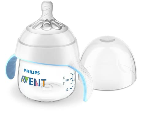 Philips AVENT 新安怡自然系列學飲杯 -  * The Philips AVENT Natural drinking learner cup supports your child and makes it easier for them to transition from the baby bottle to the drinking cup.