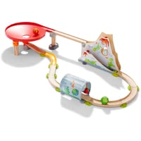 HABA Kullerbü – Ball Track Dragonland -  * The Kullerbü ball track Dragonland is a must-have toy for brave little adventurers from 2 to 8 years.