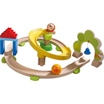 HABA Kullerbü – Ball Track Spiral Track -  * The colourful Spiral Track with its many curves ensures crazy Kullerbü fun.