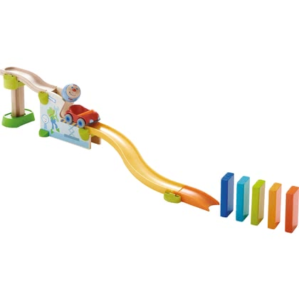 "HABA Kullerbü – Theme Set ""Jump into the Car"" -  * Endless and fun activity for children."