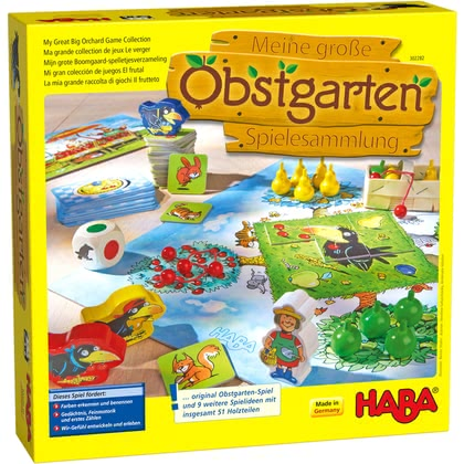 HABA – My Great Big Orchard Game Collection - Imagen grande
