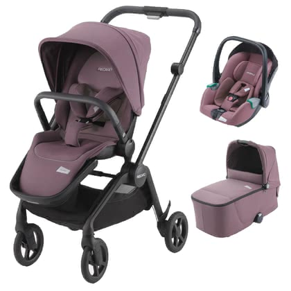 Recaro Sadena 3-in-1 Travel-System  Prime Pale Rose 2020 - Großbild