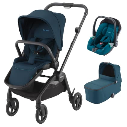 Recaro Sadena 3-in-1 Travel-System  Select Teal Green 2020 - Großbild
