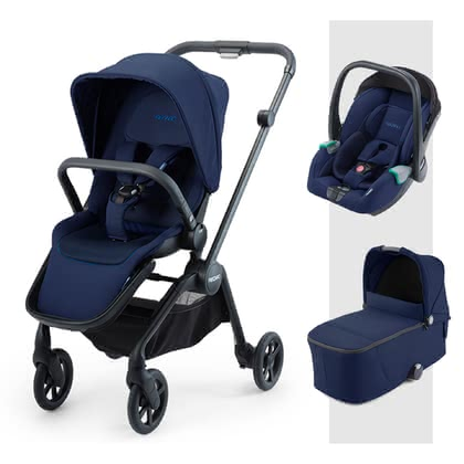 Recaro Sadena 3-in-1 Travel-System  Select Pacific Blue 2020 - Großbild