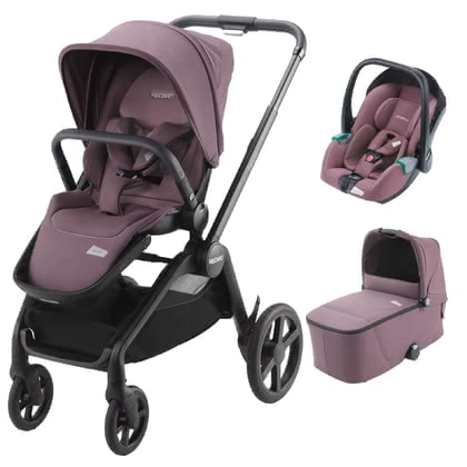 Recaro Celona 3-in-1 Travel-System Prime Pale Rose 2021 - Großbild