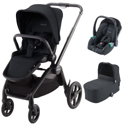 Recaro Celona 3-in-1 Travel-System Select Night Black 2020 - Großbild