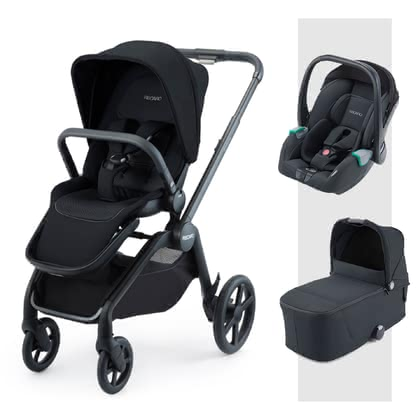 Recaro Celona 3-in-1 Travel-System Select Night Black 2021 - Großbild