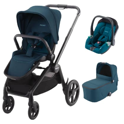 Recaro Celona 3-in-1 Travel-System Select Teal Green 2021 - Großbild