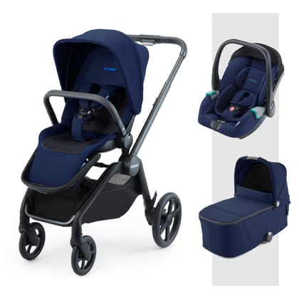 Recaro Celona 3-in-1 Travel-System Select Pacific Blue 2020 - Großbild