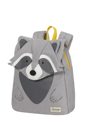 Samsonite Happy Sammies Eco – Children's backpack Raccoon Remy - Imagen grande
