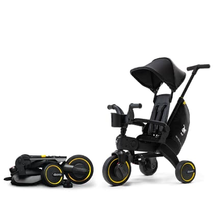 Doona Liki Trike 兒童三輪車 特別版 Midnight -  * Elegant details and a black anodized aluminium frame are the captivating highlights of the new exclusive edition of Doona's new Liki Trike.
