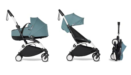 Babyzen YOYO² including Carrycot and Textile Set 6+ -  * ✓Suitable from birth ✓capacity up to 22 kg ✓Foldable carrycot ✓2-piece textile set ✓light in weight ✓Hand luggage ✓Excellent cushioning
