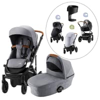 Britax Römer stroller SMILE III – Essential Bundle Exclusive - El paquete Britax R-mer SMILE III – Essential Bundle en un conjunto exclusivo.