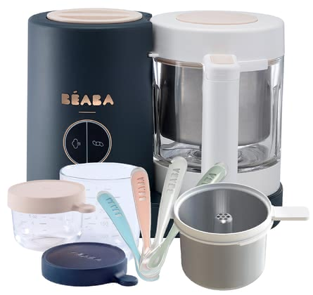 Béaba 4in1 Babycook NEO im Exklusiv-Bundle Night Blue 2021 - Großbild