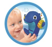 TOMY Bath Toy Water Whistler -  * ✓ splashes with water ✓ makes funny noises ✓ suitable from 9 months ✓ promotes fine motor skills ✓ trains the hearing