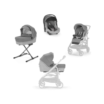 Inglesina System Quattro Trilogy Cayman Silver 2021 - Image de grande taille