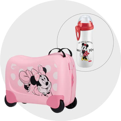 Samsonite Dream Rider Disney Travel Bundle – Exclusive Minnie-Girls 2021 - Imagen grande