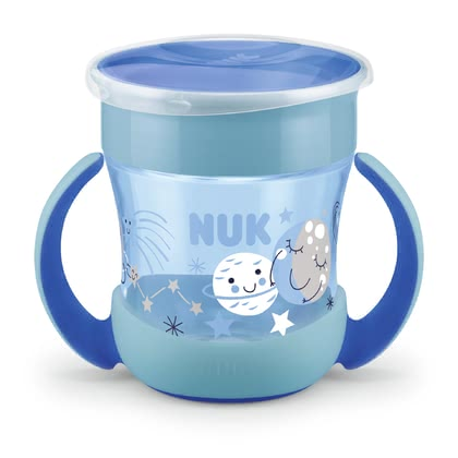 NUK Evolution Mini Magic Cup Night - Lueur dans le noir blau - Image de grande taille