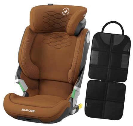 Maxi-Cosi Kore Pro i-Size – Comfort Bundle including Backseat Protector Authentic Cognac 2021 - Image de grande taille
