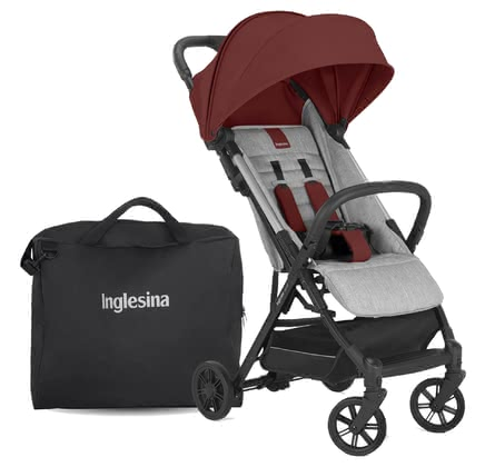 Inglesina Buggy Quid2 – Bundle inkl. Transporttasche Chilli Red 2021 - Großbild