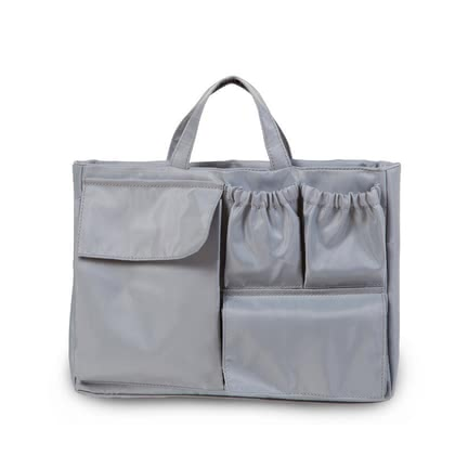 "Childhome Tascheneinsatz für ""Mommy Bag"" - In a nutshell: Pocket insert, Colour: grey, Dimensions: 31 x 22.5 x 8.8 cm, Material fabric: 100% nylon, Material lining: 100% nylon, Care: not washable ..."