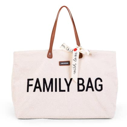 "Childhome ""Family Bag"" - In a nutshell: trendy bag for the next family outing, Dimensions: 55 x 18 x 40 cm, Material fabric: 100% nylon, Material lining: 100% nylon, Material han..."