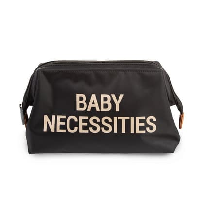 "Childhome Kulturtasche ""Baby Necessities"" - The ""Baby Necessities"" toilet bag is a handy water-repellent bag where you can safely store the most important baby items."
