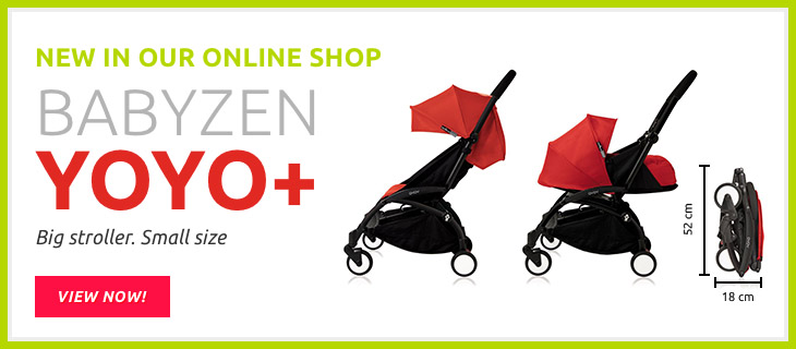 Babyzen Buggy YOYO+ incl. Textile set 0+ and 6+ 2017 Rot black/frame - Buy at kidsroom | Strollers