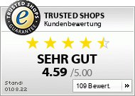 Trusted Shops customer ratings - Display customer ratings